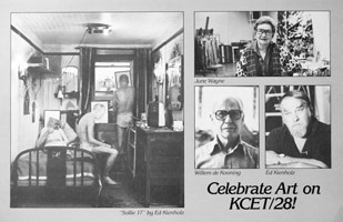 KCET Kienholz announcement, 1981