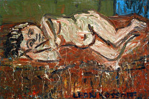 Nude on a Red Bed, 1969<BR>