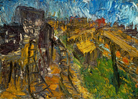 Railway Landscape Near King's Cross, Summer 1967, 1967<BR>