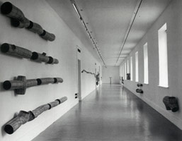 Peter Shelton installation photography, 1998