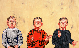 3 Children, 1991<BR>