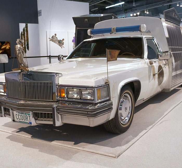 Edward & Nancy Kienholz: The Caddy Court <br>at The Armory Show