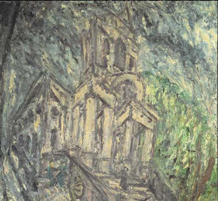Leon Kossoff: Drawing from Painting
