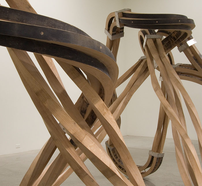 Dead Leg<BR>Richard Deacon in association with Matthew Perry
