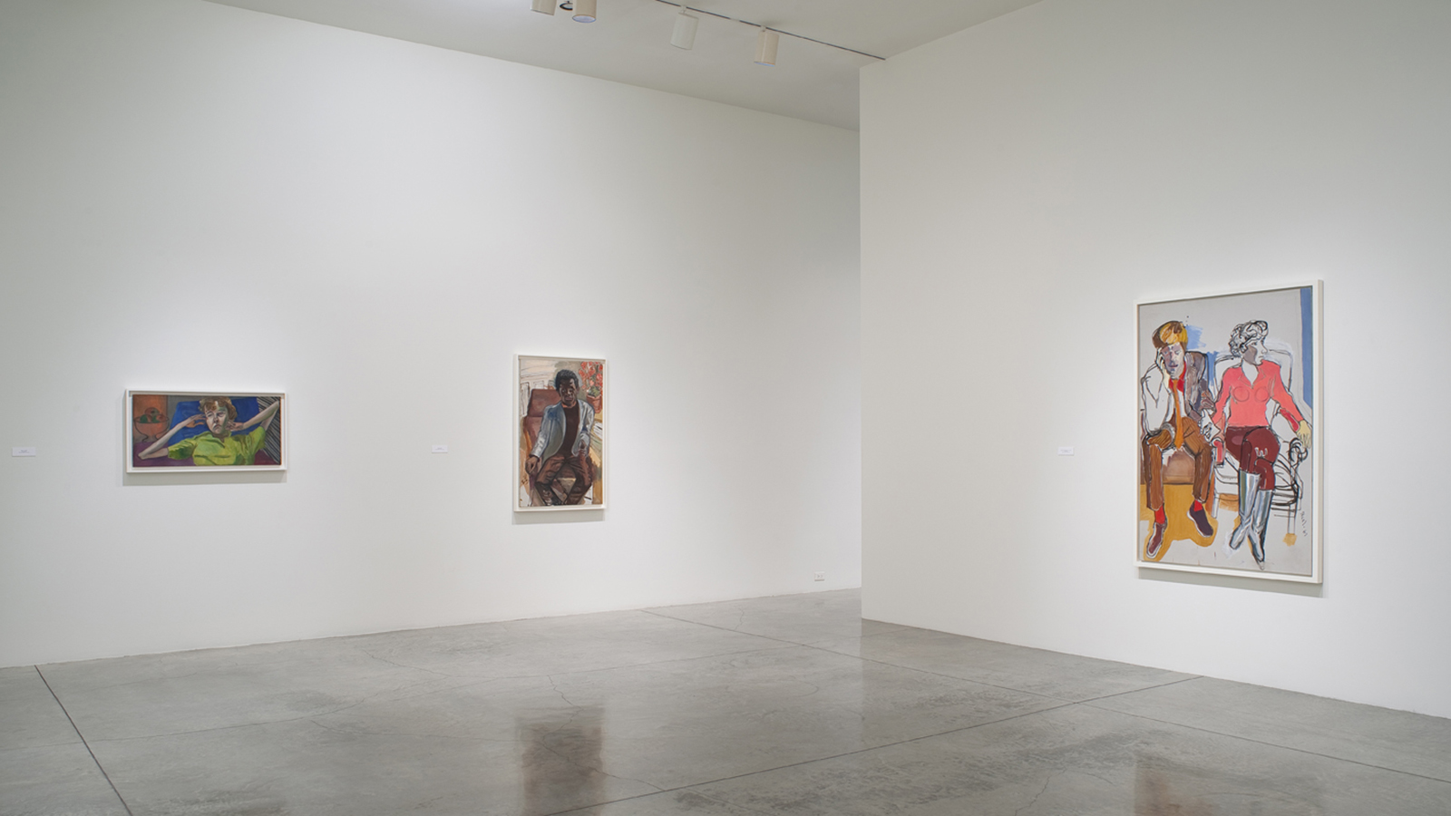 Alice Neel Installation L.A. Louver May 2010