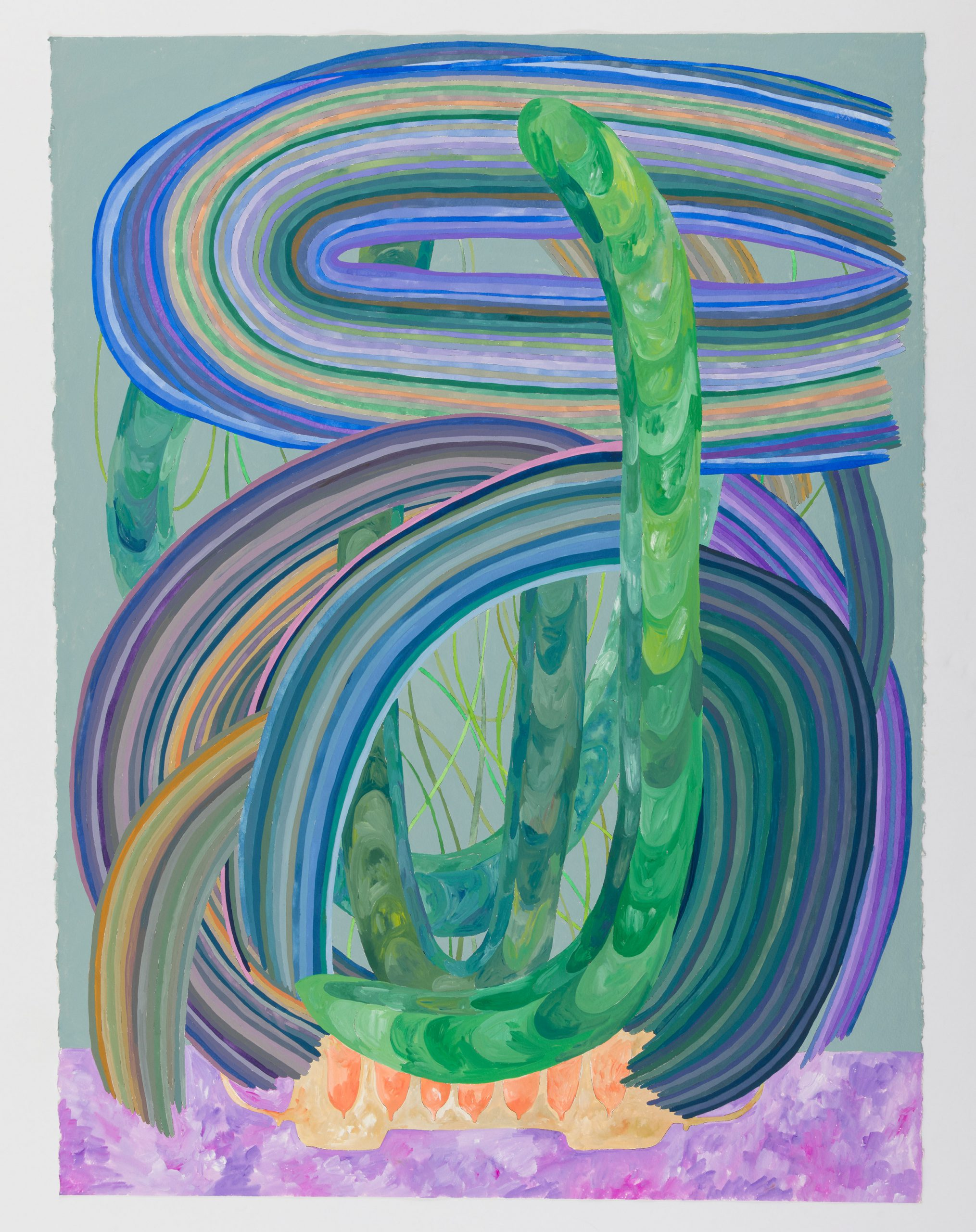 Matt Wedel Potted Plant, 2020