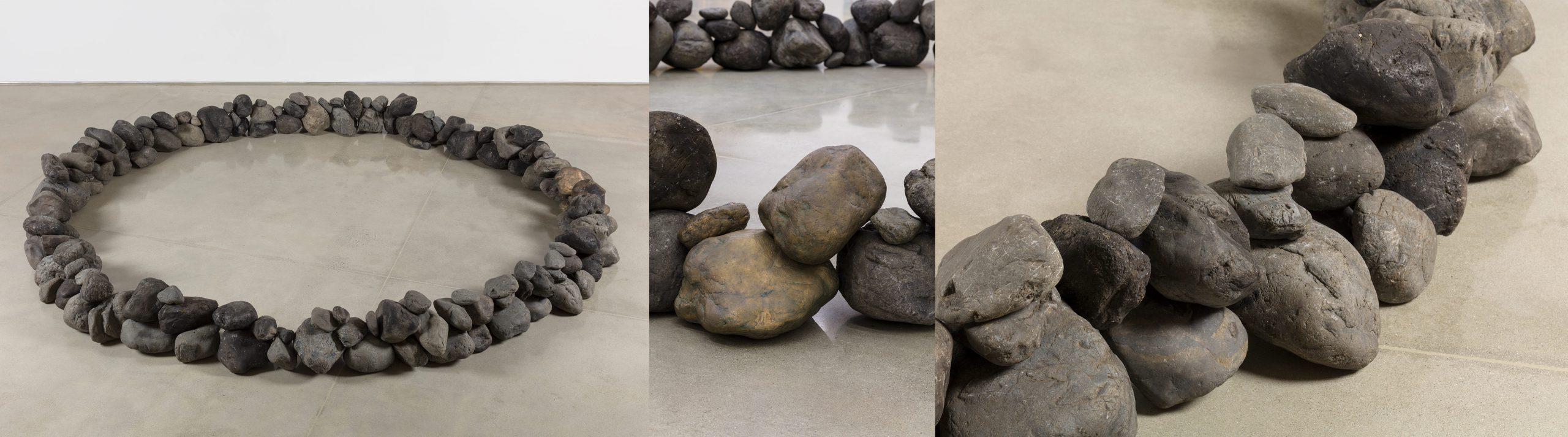 Toshikatsu Endo Untitled (ring of rocks)