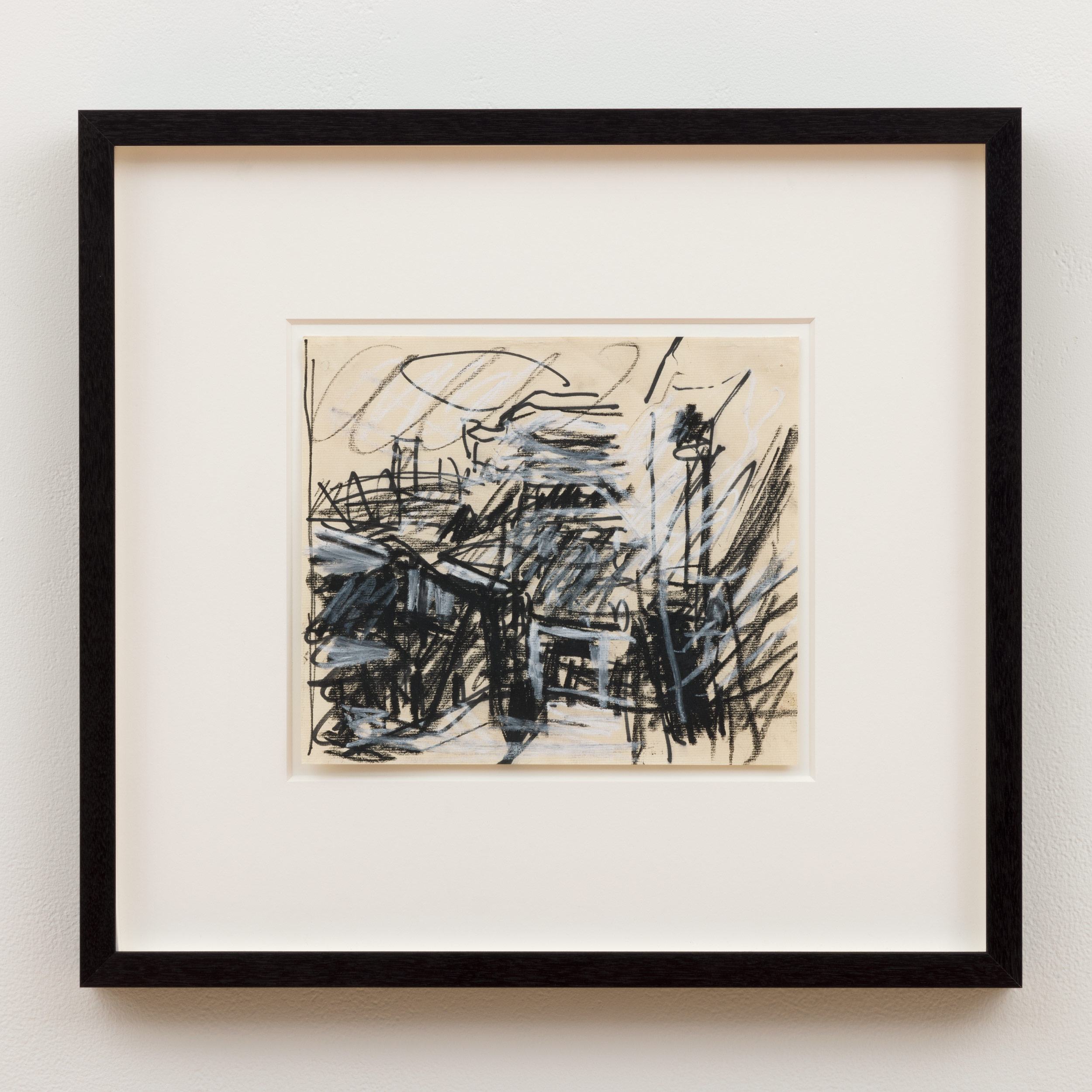 Frank Auerbach Study for To the Studios