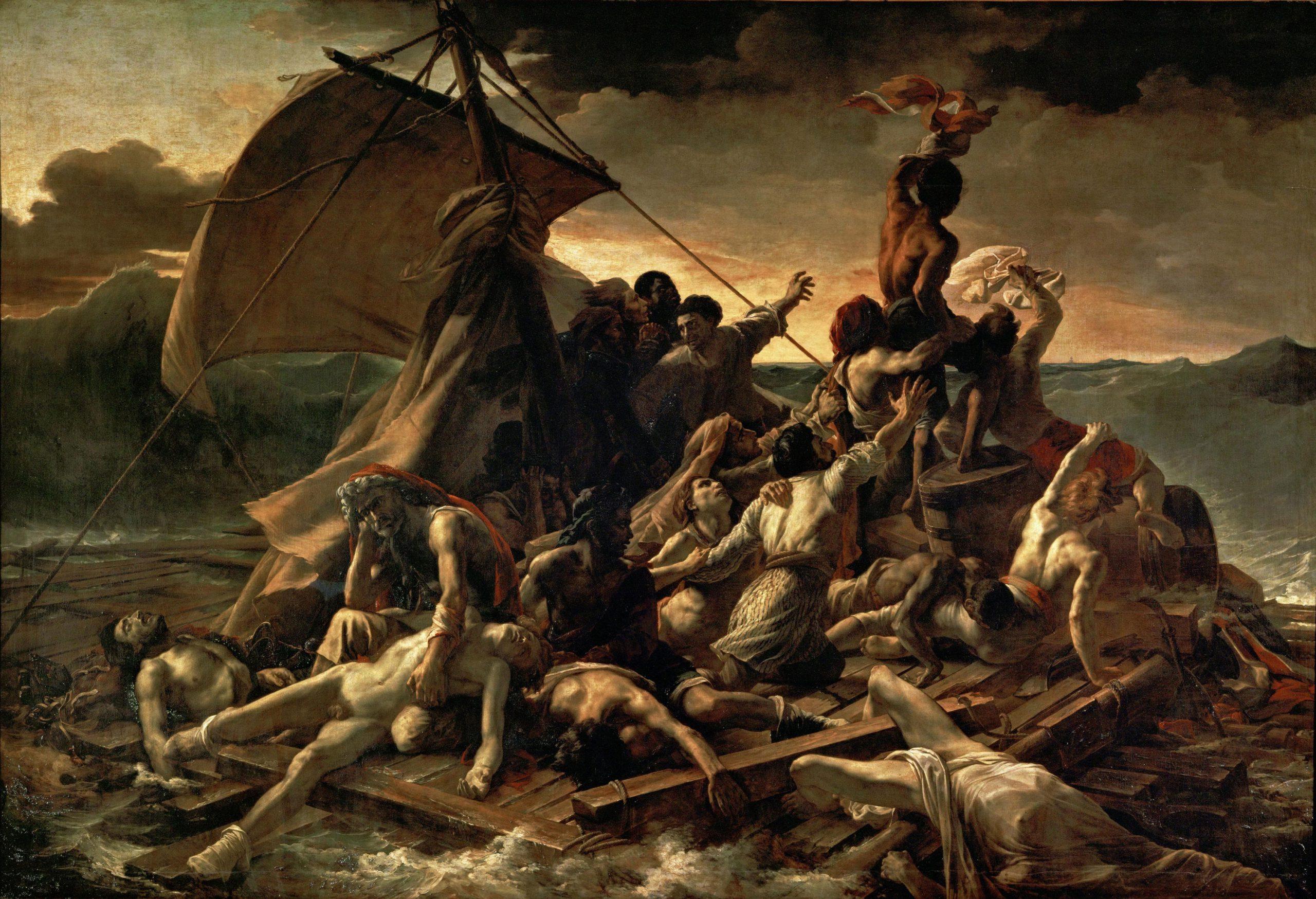 Theodore-Gericault-The-Raft-of-the-Medusa-1818-19